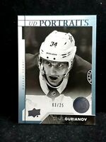2017-18 Upper Deck Series Young Guns Denis Gurianov UD PORTRAITS /25 Rare P64