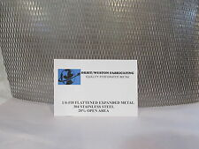 "STAINLESS STEEL EXPANDED METAL 1/4-#18----18"" X 24'"