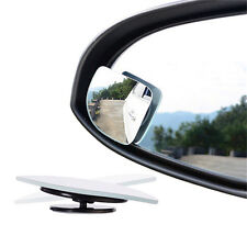 2Pcs Auto Car Adjustable Side Rearview Blind Spot Rear View Auxiliary Mirror QY