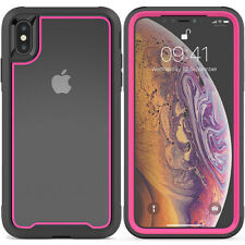 Fr iPhone XR XS 7 8plus Heavy Duty Shockproof Clear Case Hybrid TPU Bumper Cover
