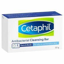 * Cetaphil Antibacterial Cleansing Bar 127g Facial Wash Non-Soap Formula