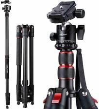 """K&F Concept 78"""" Camera Tripod Aluminum Travel Vlog Tripod Monopod for DSLR Canon"""