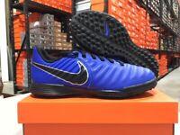 Nike Junior Legend 7 Academy TF Soccer Shoes (Blue/Black) Size: 10c-6y NEW!