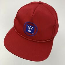 Wilson Trailer Company Ball Cap Hat Adjustable Baseball Red K-Products