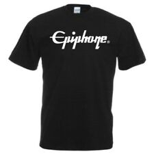 EPIPHONE Guitars Logo T - Shirt Music Band Rock Bass Drums Pick ALL SIZES COLORS