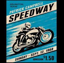 8x10 Vintage Motorcycle Racing Poster PHOTO Advertisement Races Retro Decor 68
