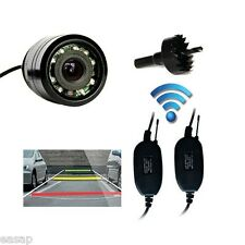 Wireless Waterproof Backup Night Vision Car Rear View Reverse Camera 28mm IR LED
