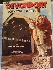 The Devonport Dockyard Story by Lt. Cdr K.V. Burns DSM RN Paperback 1984