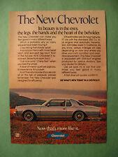 April 1978 Reader's Digest Ad for 1978 Chevrolet