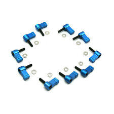 M5 Thread Knob Screw Clamp 10pcs for 15mm Rods DSLR Rail Rig Riser Support Plate