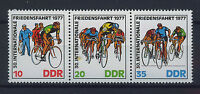 ALEMANIA/RDA EAST GERMANY 1977 MNH SC.1808/10 Intnl.peace bicycling race