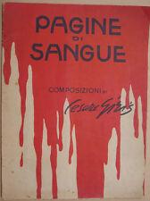 CESARE GIRIS PAGINE DI SANGUE MANTEGAZZA 1916 WWI PRIMA GUERRA MONDIALE 1915 18