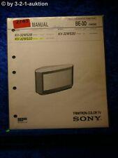 Sony Service Manual KV 32WS2D /B /U (#2743)