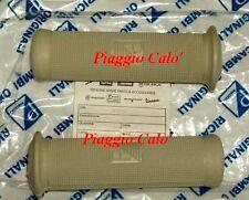 Coppia manopole grigie D.21mm Piaggio Vespa 125 150 VBA VBB VNB 160 GS 180 Super