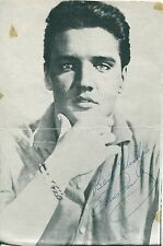 "ELVIS PRESLEY AWESOME STUNNING AUTOGRAPH SIGNED  PHOTO MINT  5"" X 7"""