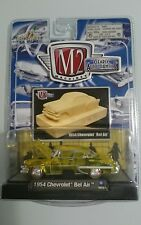 M2 CLEARLY AUTO-THENTICS 1954 CHEVROLET BEL AIR YELLOW RARE  COLOUR RELEASE 1