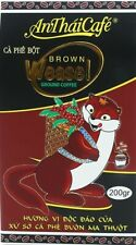Vietnam Kaffee - 1 x   An Thai Café - Weasel - Brown Coffee - 200 gr.
