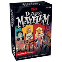 Dungeon Mayhem Card Game - Dungeons & Dragons - Brand New - D&D