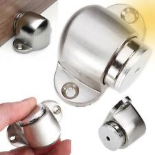 ZINC ALLOY MAGNETIC DOOR HOLDER STOPPER DOORSTOP WALL FLOOR MOUNTED CATCH STRICT
