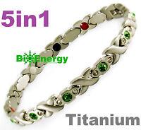 Magnetic Energy  Armband Power Bracelet Health Bio Magnet 5in1 lady's GERMANIUM