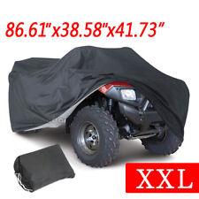 XXL Waterproof ATV Cover Universal Fit Polaris Honda Yamaha Can-Am Suzuki w/ Bag
