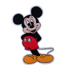 Embroidered Mickey Mouse Sew & Iron On Patch On Felt