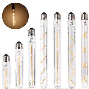 Retro Vintage LED Edison Filament Light Bulb E27 T30 Warm White Lamp
