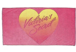 Victorias Secret Limited Edition Logo Beach Towel NEW