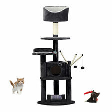 163cm Cat Tree Scratching Post Scratcher Activity Center Kitten Climbing Toy