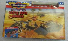 VINTAGE GALOOB MICRO MACHINES BATTLE ZONE BUNKER 7002 MILITARY OPEN BOX