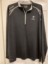 2Xl~Columbia~Omni-Wick~Ba ndon Crossings Golf Course~Logo~Shirt~Black~l /s~ Mint