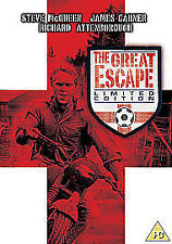 THE GREAT ESCAPE LIMITED EDITION R2 DVD STEVE McQUEEN JAMES GARNER NEW/SEALED