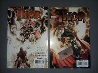 Thor #1 Turner variant  2007 Copiel Straczynski & Rebirth featuring 1 thru 3