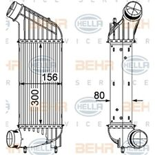 ORIGINAL HELLA Ladeluftkühler T Citroen C8 Bj.02- 8ML376746-361