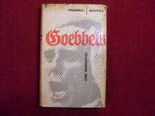 84040 H Fraenkel *GOEBBELS* Eine Biographie HC+Abb 1960