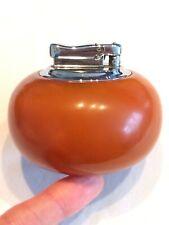 More details for vintage colibri monopol amber bakelite phenol petrol desk lighter