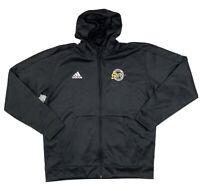 Adidas Men's Milwaukee Sting Vollebay Full Zip Dark Gray Track Jacket Sz XL