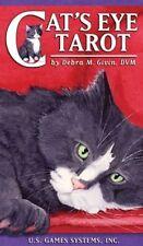 Cat's Eye Tarot Cards Deck by Debra M. Givin Modern Day Cat Lovers Divination