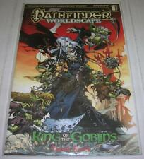 PATHFINDER WORLDSCAPE KING OF GOBLINS DF HUMBLE BUNDLE VARIANT w/COA (VF) RARE