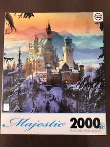 TCG 2000 Piece Puzzle Majestic Winter At Neuschwanstein Castle Hans Peter Huber