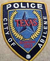 TX City of Abilene Texas Police Patch