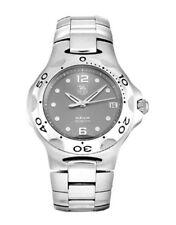 Tag Heuer Men's Grey Dial Stainless Steel Bracelet Kirium Watch WL111G.BA0701