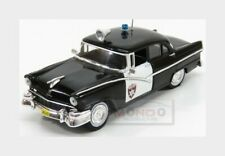 Ford Usa Fairlane Police 1956 Black White EDICOLA 1:43 ED126900