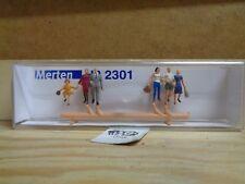 H0 Merten 2301 Pedestrians,Treppenabsteigend (Groups) . Figures. Orig. Packaging