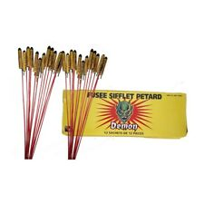 Lot de 144 fusées sifflantes - pétard volant sifflant- feu d'artifice