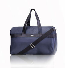 Giorgio Armani Full Size Duffel and Gym Bag Electric Blue With Dust Bag New