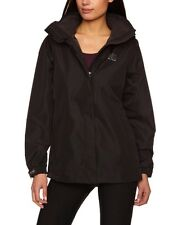 NEW Womens Helly Hansen Aden 100% Waterproof Jacket Black Size Large