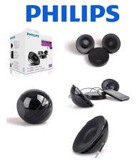 Philips Tragbares Stereo Lautsprecher System+ Verstärker Ipone Samsung Nokia MP3