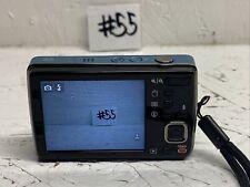 Kodak EasyShare Mini M200 Blue 10 MP Digital Camera Pre-owned No Cords