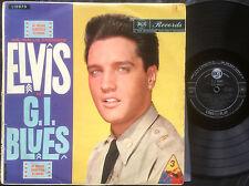 ELVIS PRESLEY - G.I. BLUES Ultrarare 1960 Aussie MONO LP Release!
